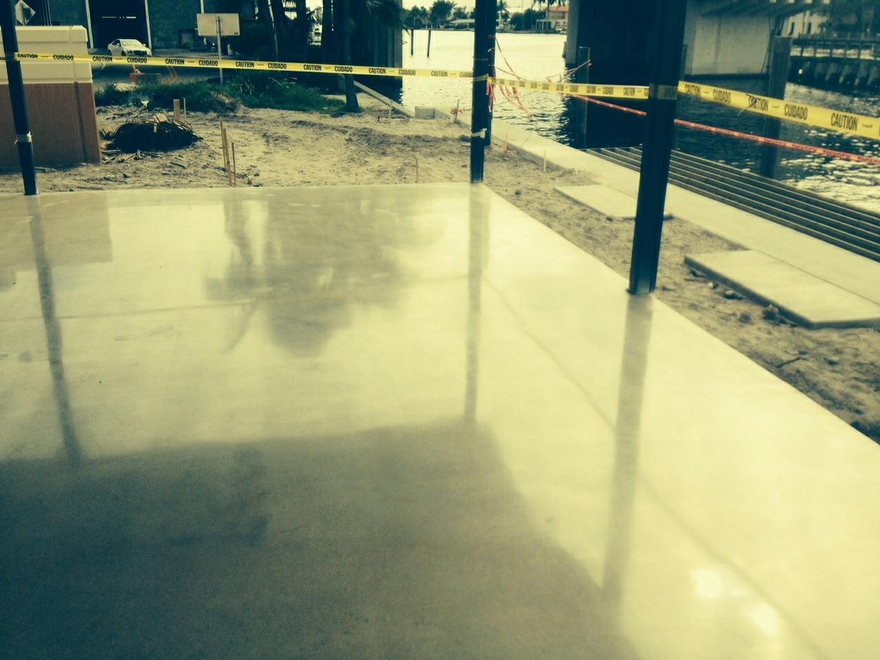 he Polished Concrete Floors
