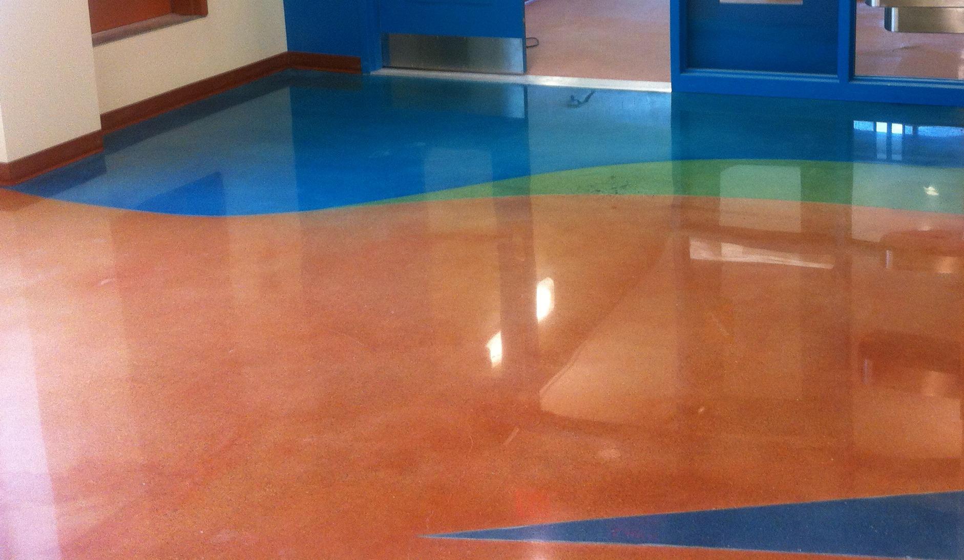 Elementary School Entry Floors