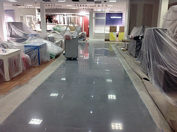 JCP - finished floors