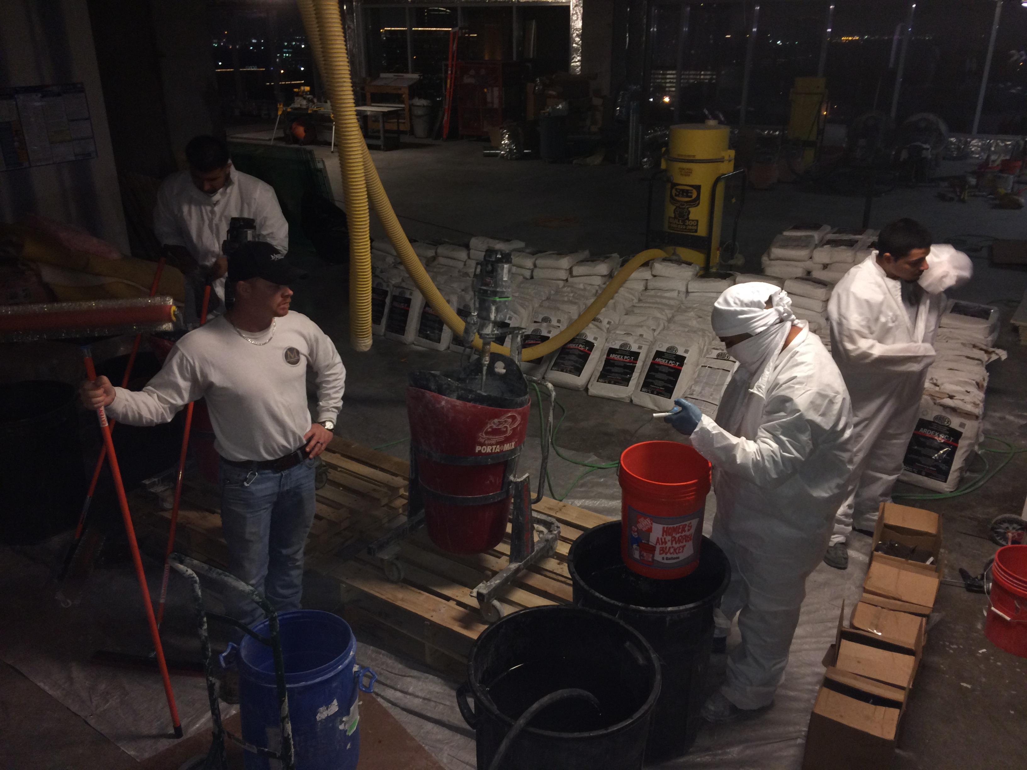 Preparing the RapidSet TRU