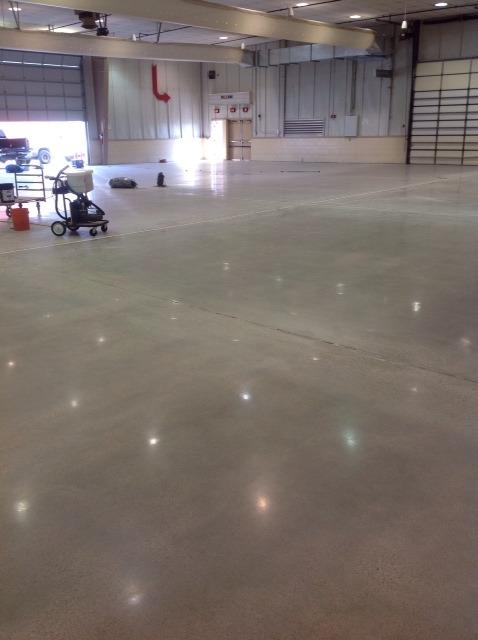 Polished Christensen Field Floor
