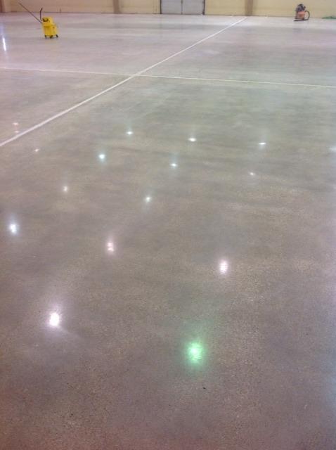 Polished Concrete - Christensen Field Floor