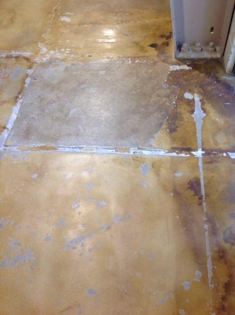 Before: Christensen Field Floor