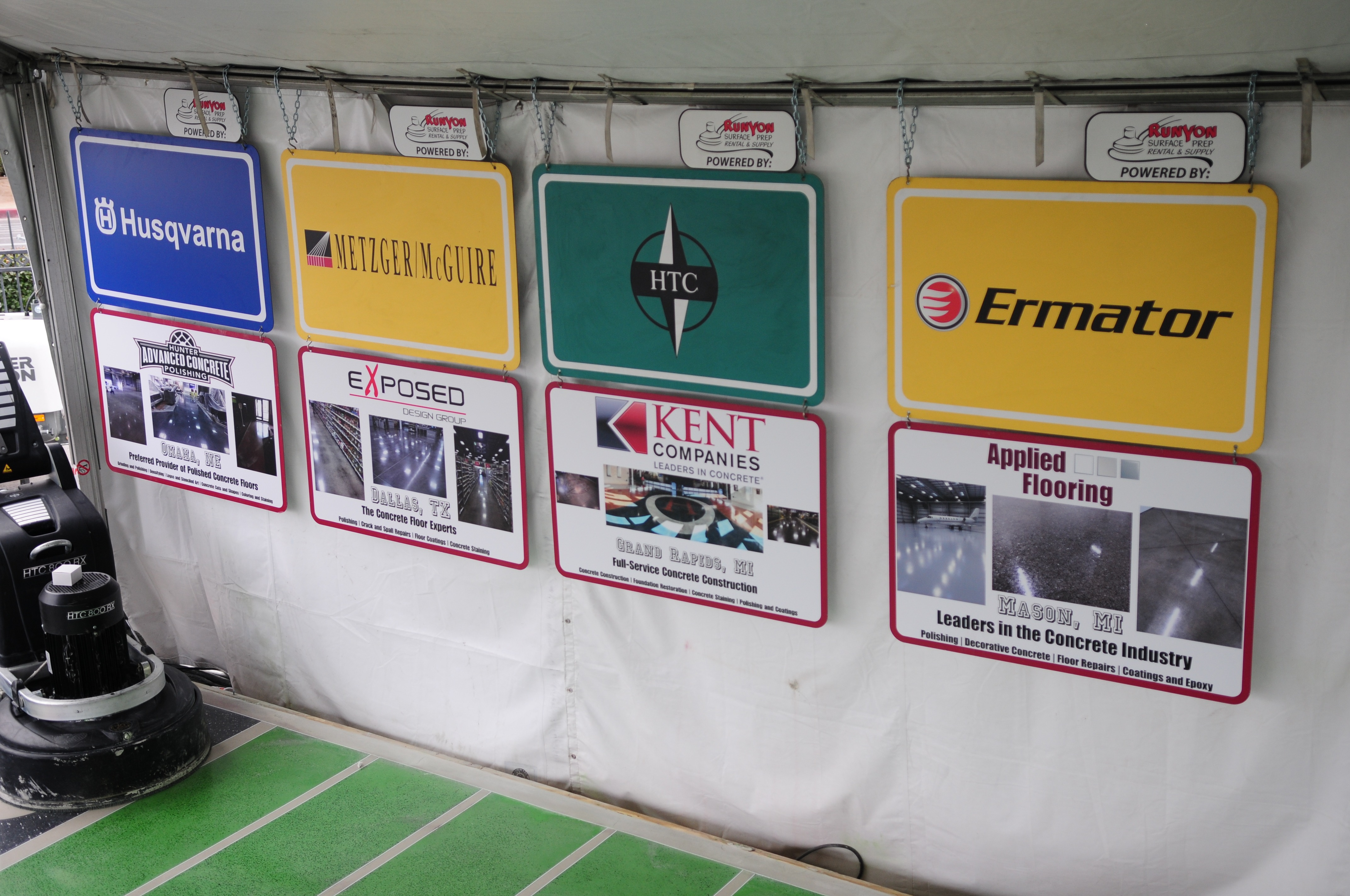 WOC 2014 - customer feature signs