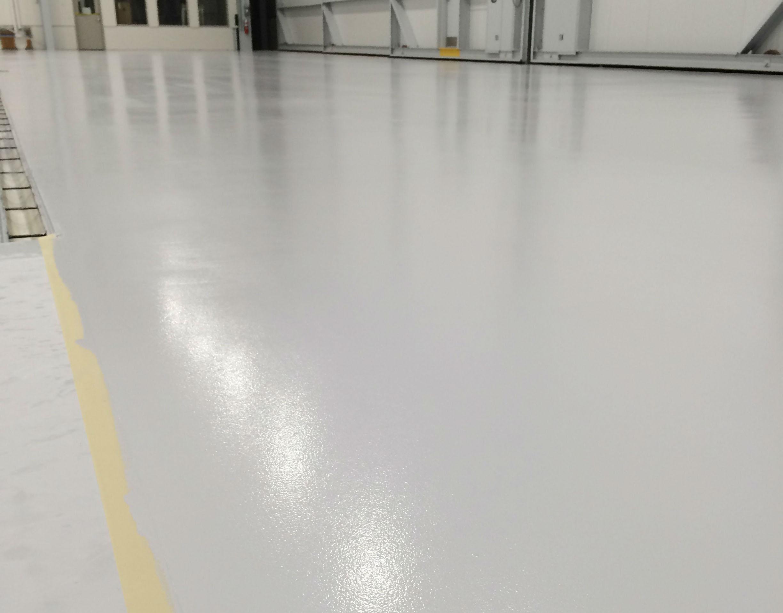 Hangar Polished Concrete Floors