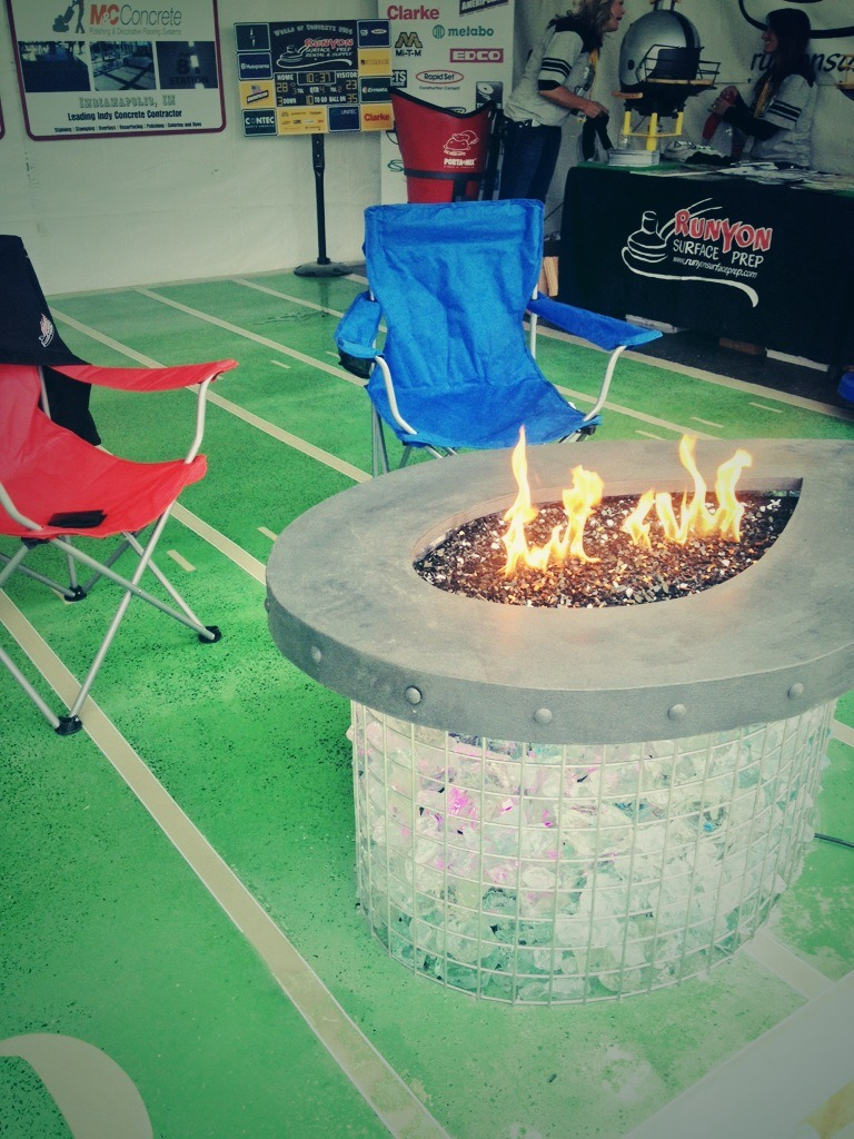 WOC 2014 - fire pit area