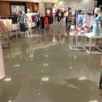 Finished Nordstrom Concrete Floor