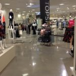Nordstrom Polished Concrete Floors in the Women's Dept