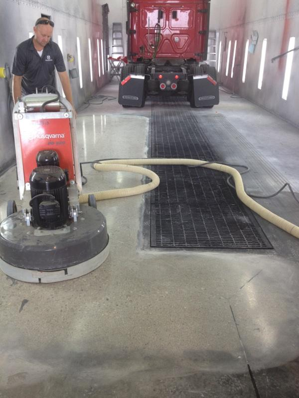 Stoops Freightliner Mastic Removal