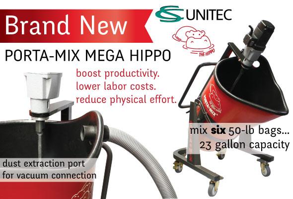 New CS Unitec MEGA HIPPO Mixer