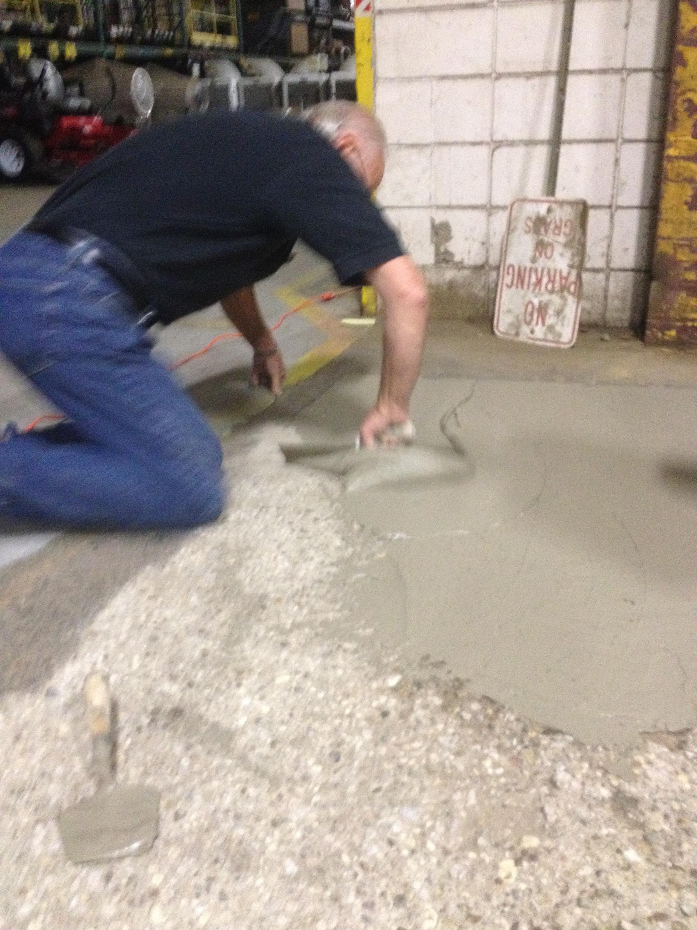 Concrete Resurfacer Skim Coat