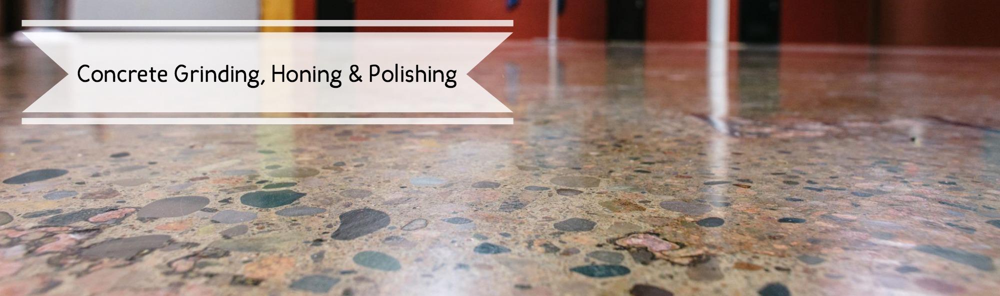 Concrete Grinding Honing & Polishing Process