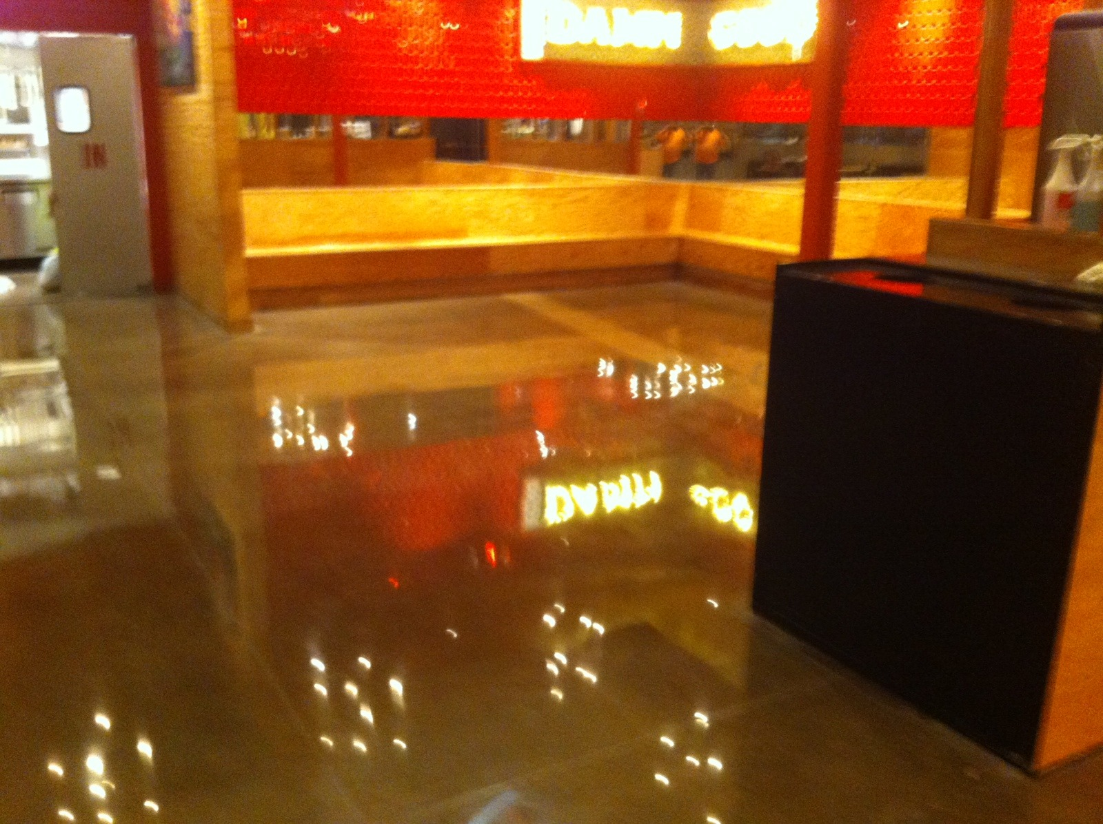 Torchy's Taco Shop Floor - after