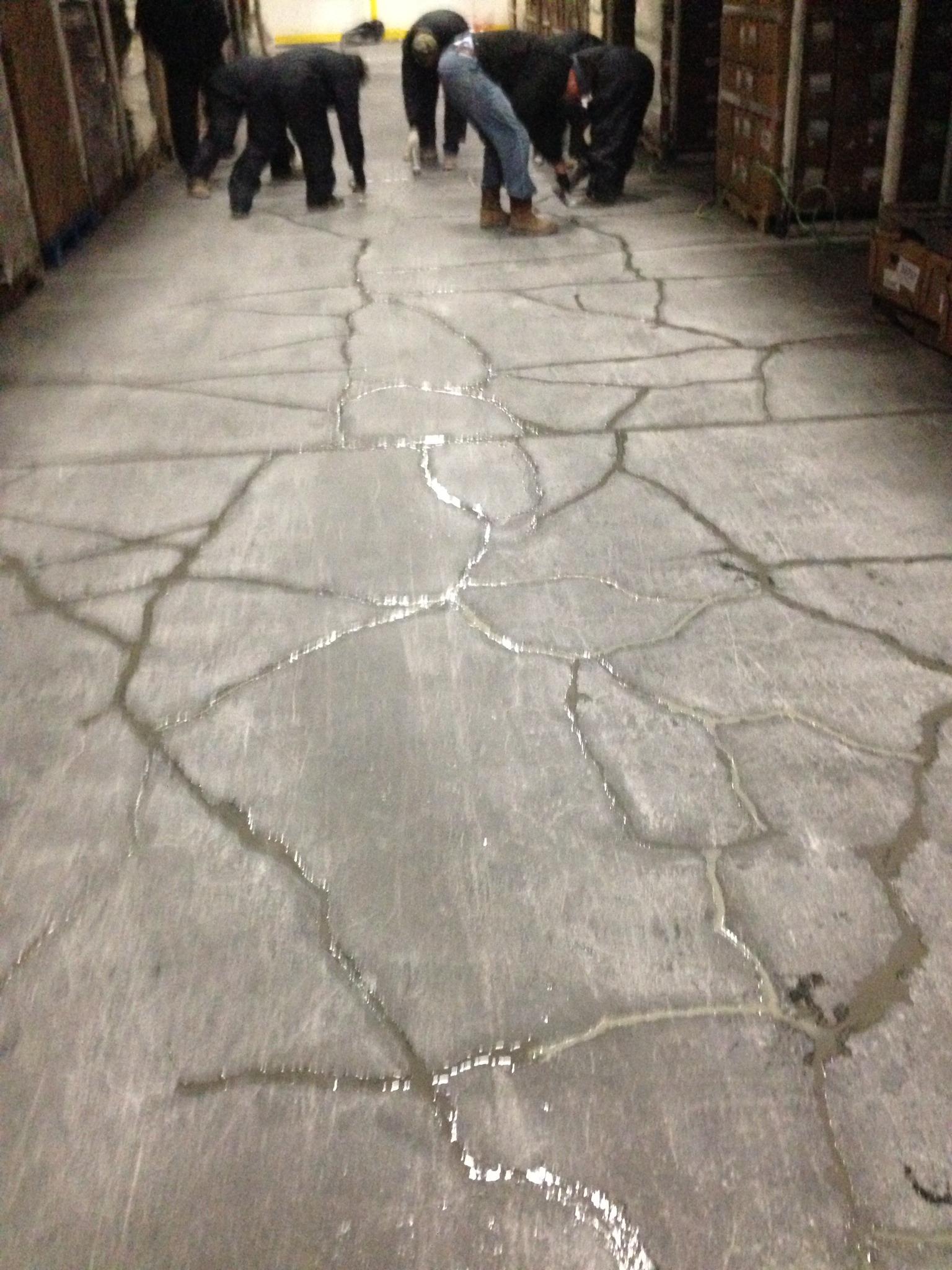 AMC freezer crack repair
