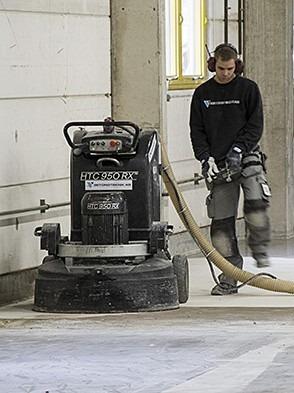 HTC Floor Systems Grinding & Polishing Equipment