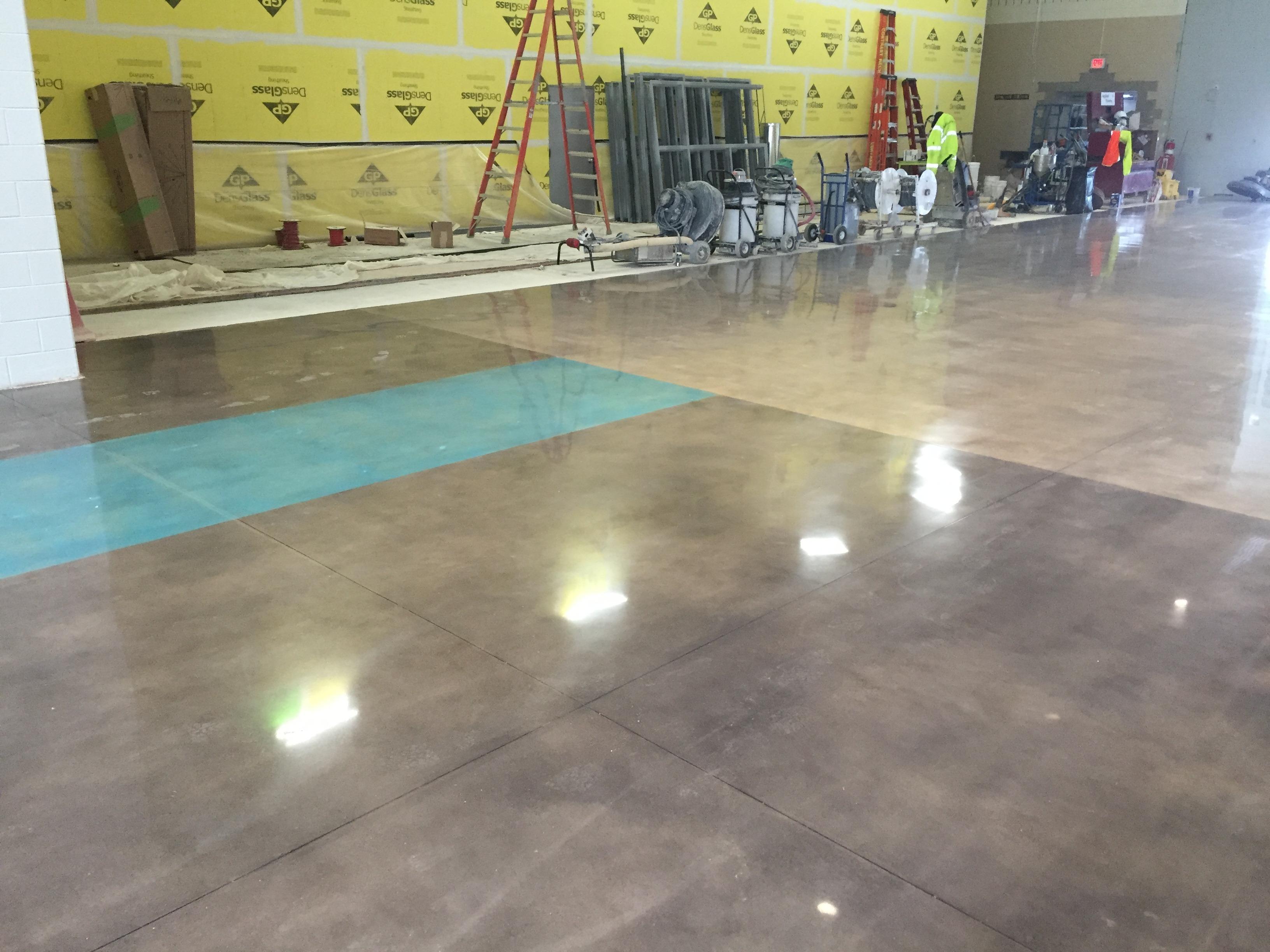 Applied Flooring Woodworth Middle School Job