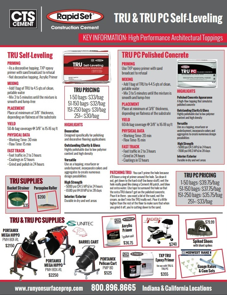 Build Fast, Build to Last with Rapid Set Cement Products