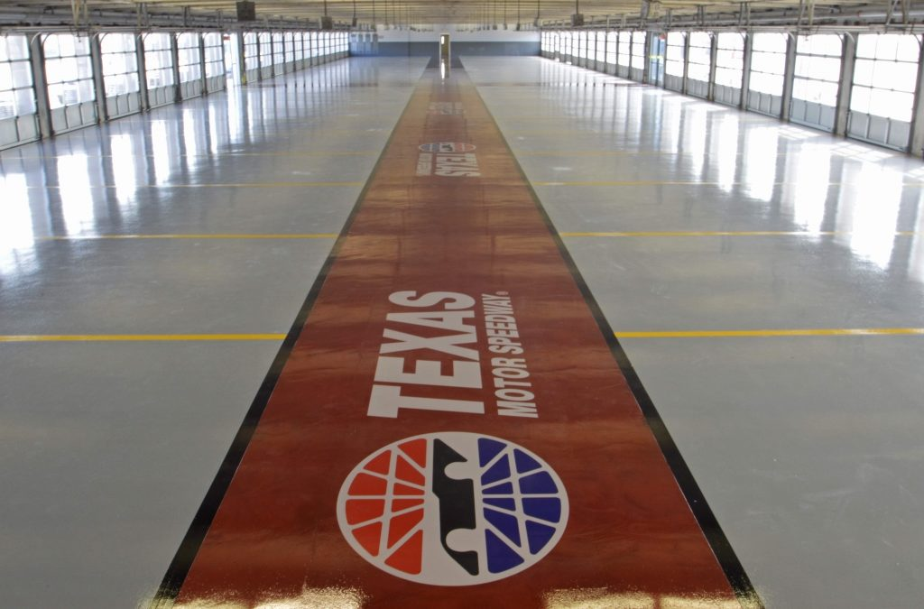 Spartacote Applicator Inter Tech Offers Texas Motor Speedway High Performance Flooring Built to Last