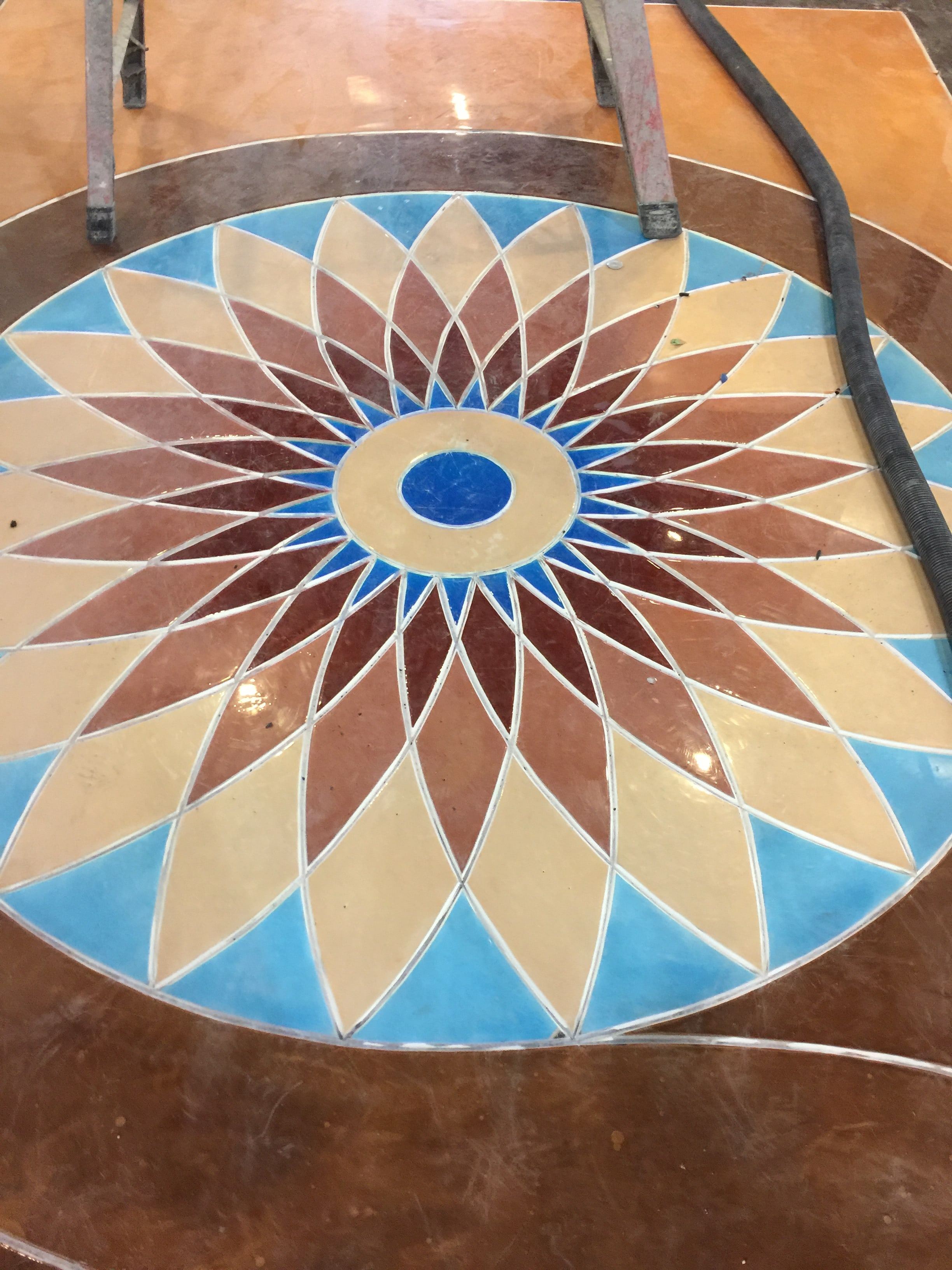 The Importance of Surface Prep for Decorative Epoxy Flooring