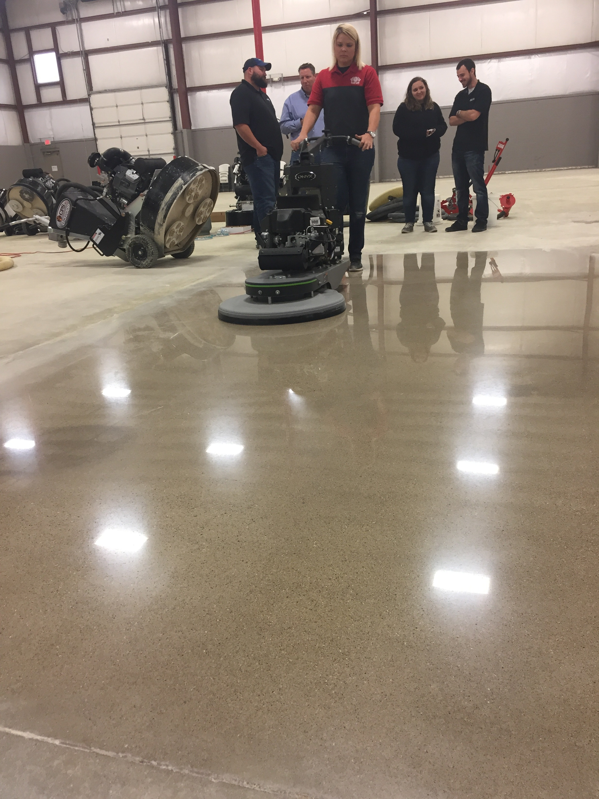An Overview of Diamond Impregnated Pads for Polished Concrete