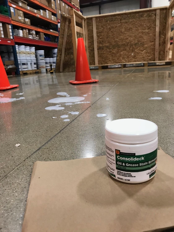 Runyon Warehouse Oil Spill Remediation