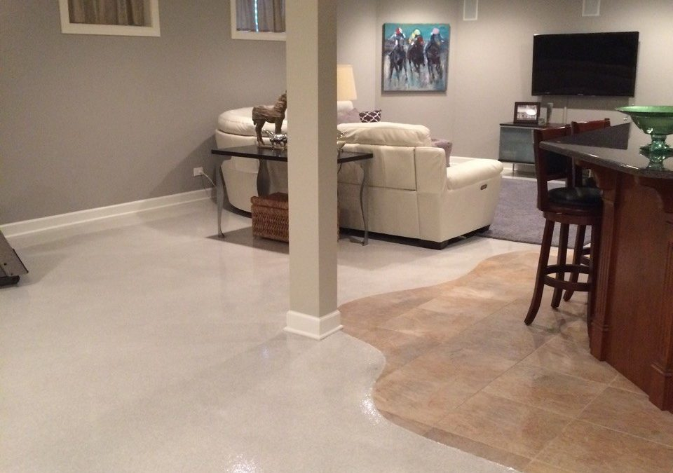 Flake Floors that Go Beyond the Residential Garage Market