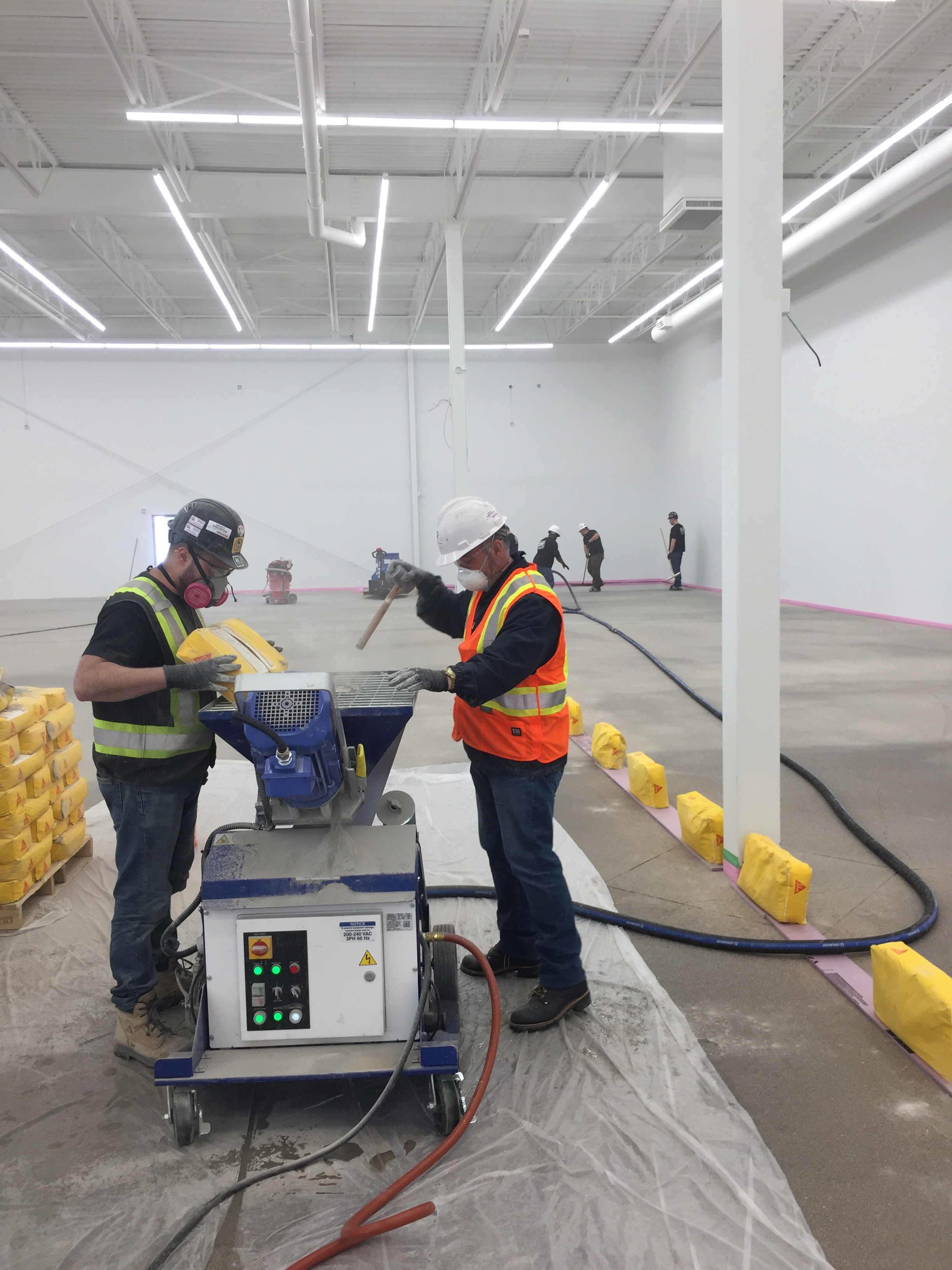 Efficient, Effective and Consistent: An Overview of Graco Pumps for Self-Leveling Placement