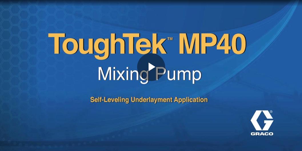 Graco MP40 Mixing Pump