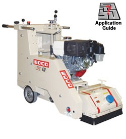 "EDCO CPU-10FC-E Crete-Plane 10"" Electric Self-Propelled Scarifier"