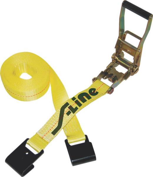 Ratchet Strap with Flat Hook