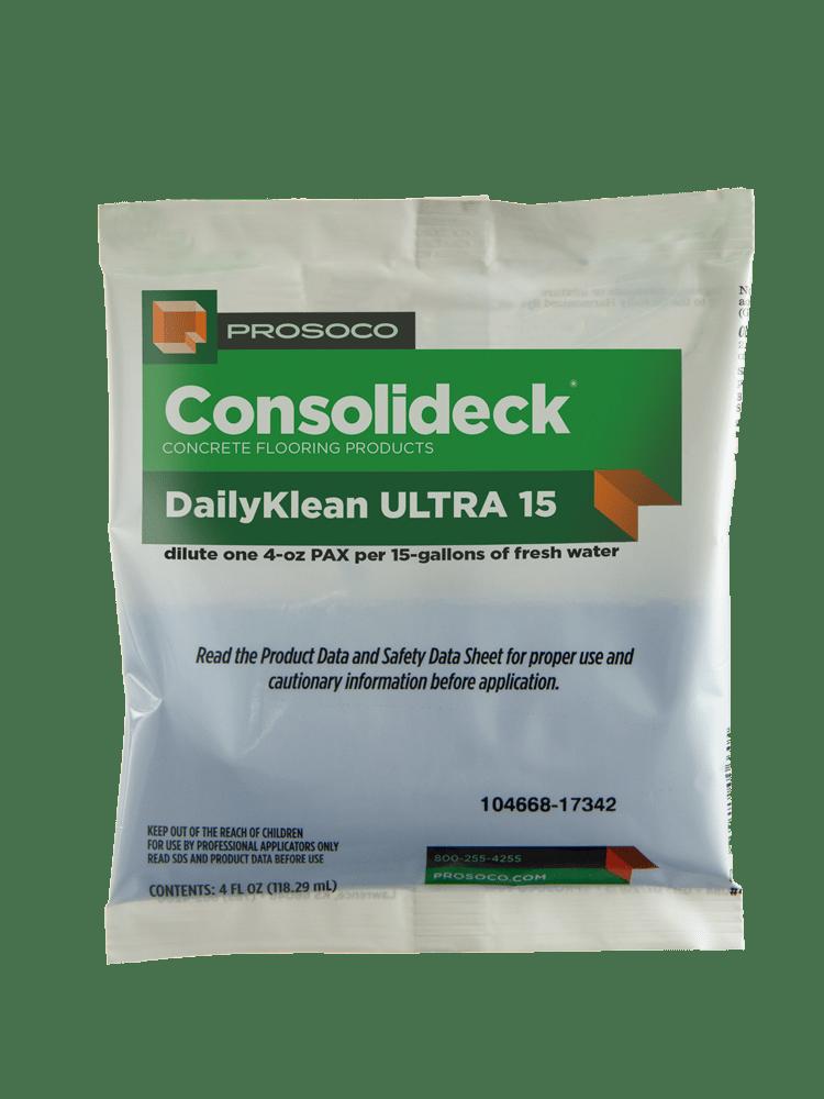 Prosoco Consolideck DailyKlean Ultra 15