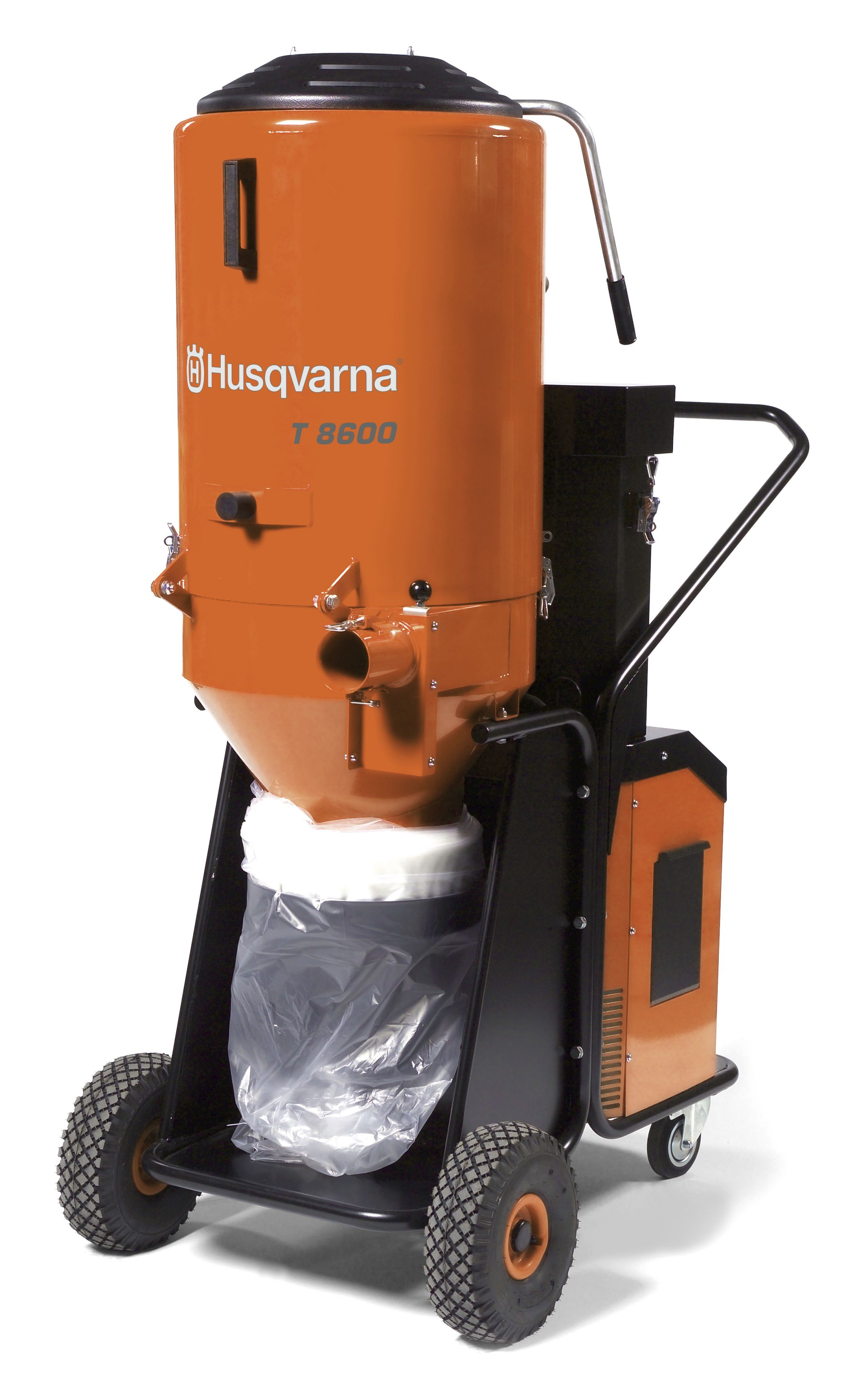 HUSQVARNA T8600 3-PHASE 480V HEPA DUST EXTRACTOR