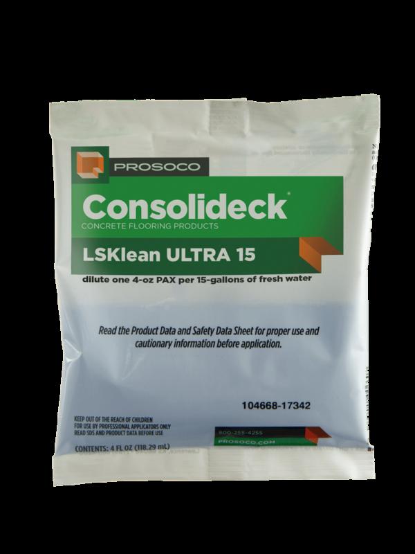 Prosoco Consolideck LSKlean Ultra 15