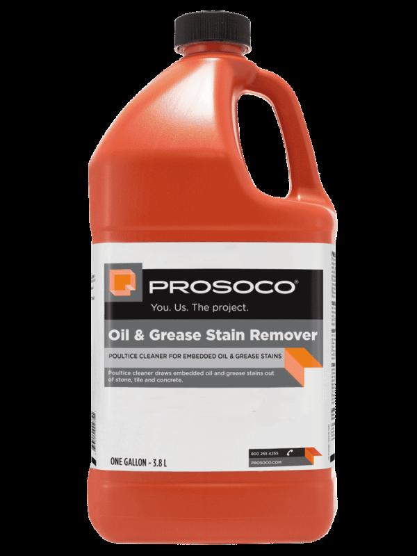 Prosoco Oil & Grease Stain Remover