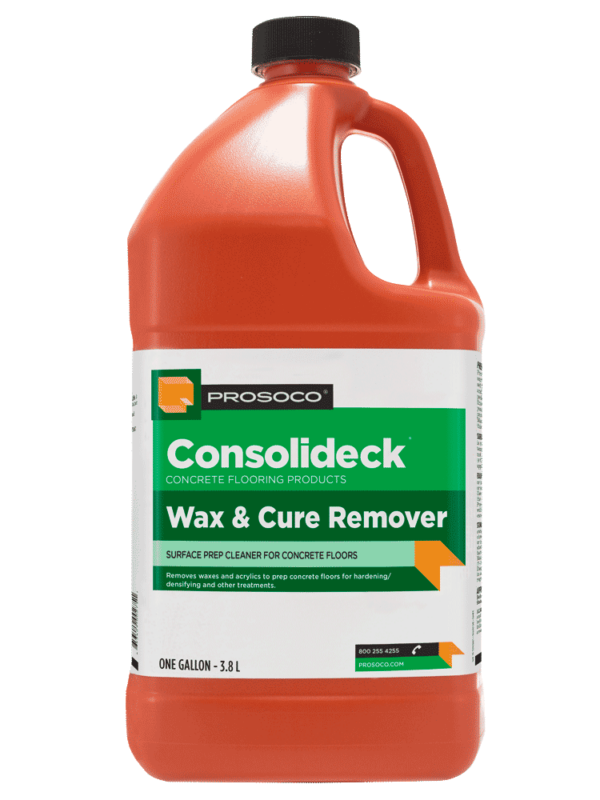 Prosoco Consolideck Wax & Cure Remover