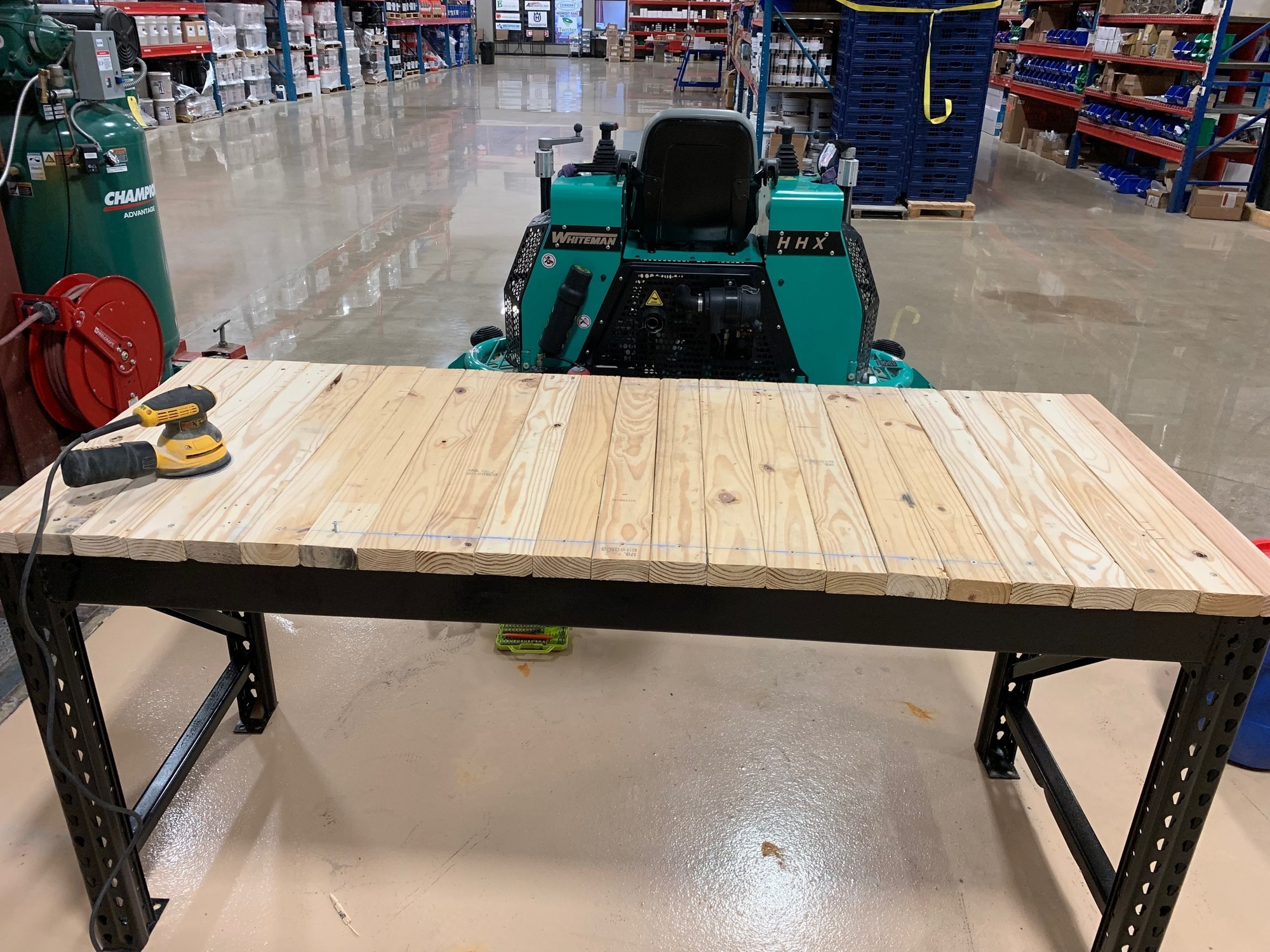 How To Build A Diy Epoxy Table Top Workbench Runyon Surface Prep