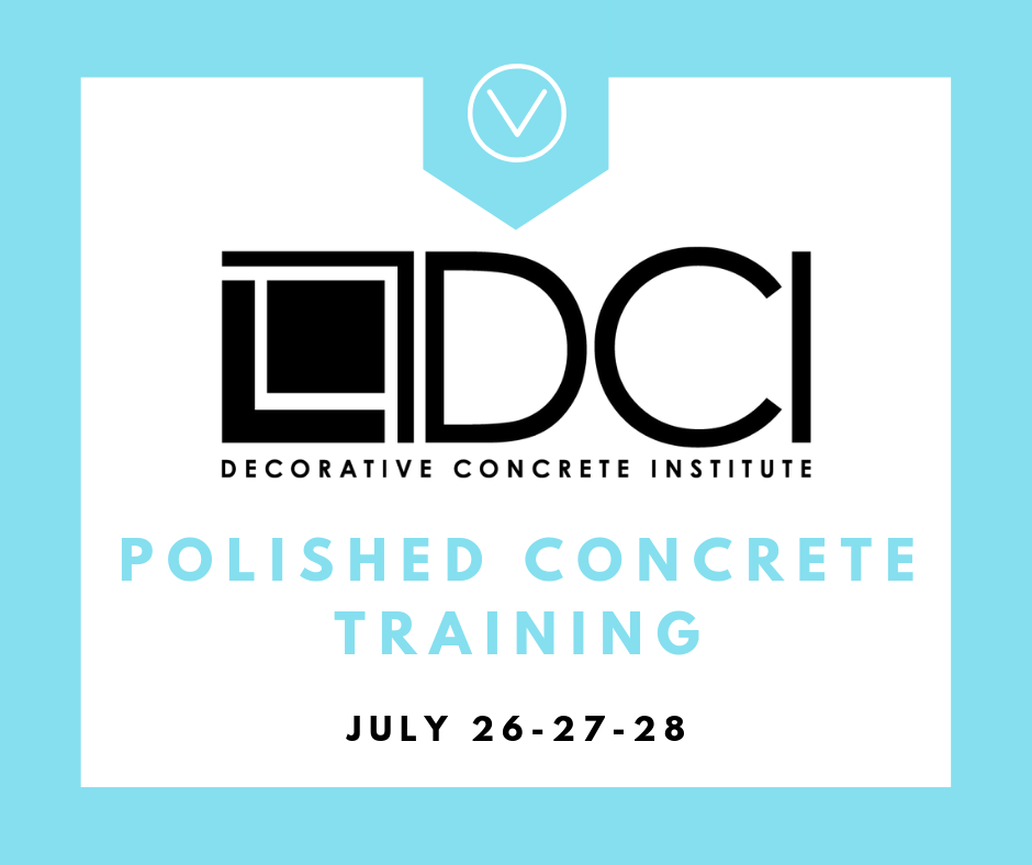 Decorative Concrete Institute Training