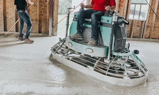 concrete trowel equipment