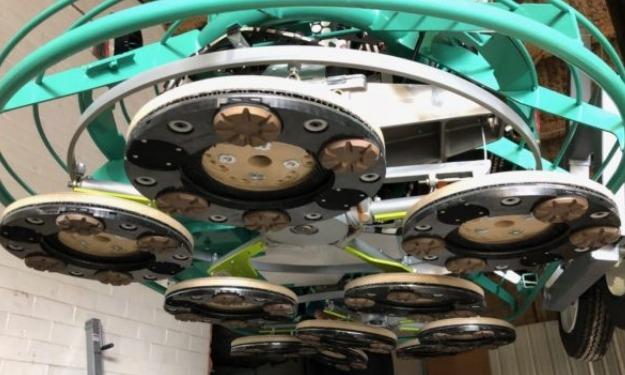 trowel magnetic system