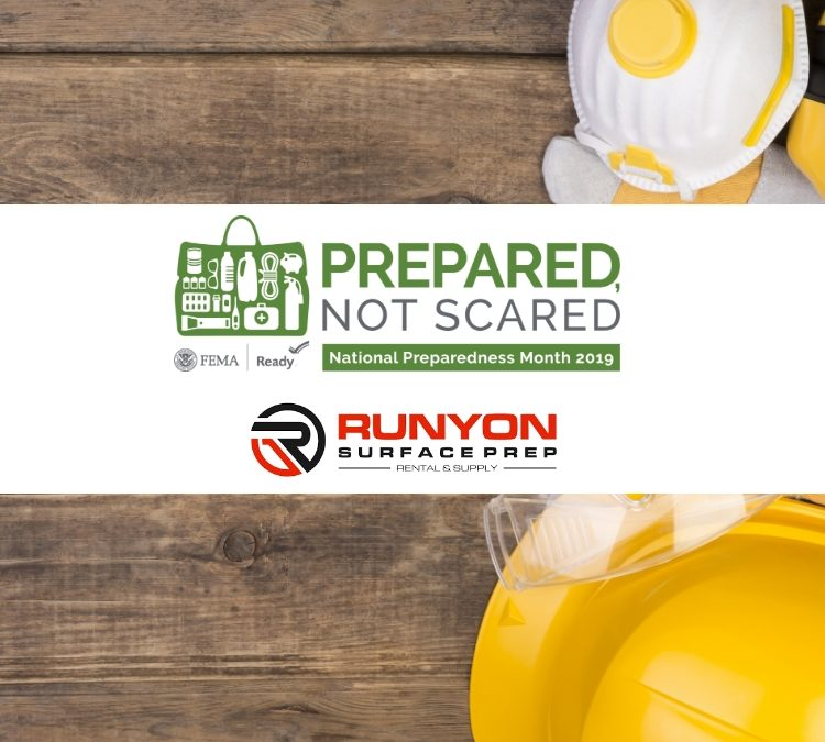 September is National Preparedness Month, Which Means It Is Time to #BeReady!