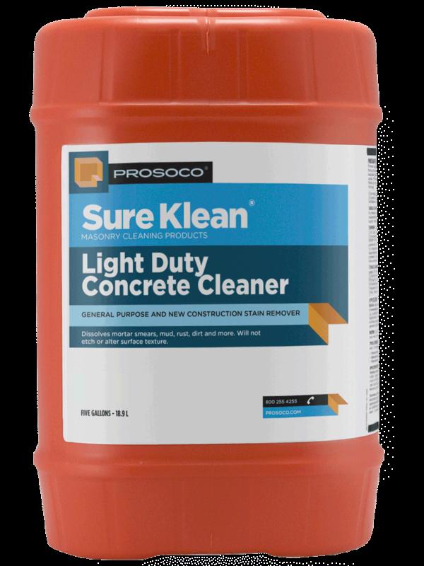 Prosoco Light Duty Concrete Cleaner