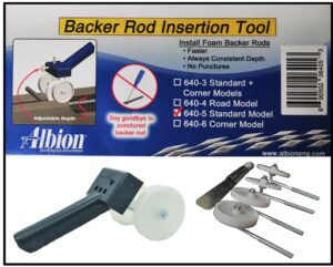 Albion Backer Rod Insertion Tool