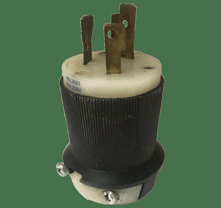 Hubbel 3-Wire Male Plug