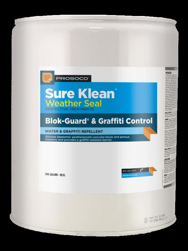 Prosoco BlokGuard and Graffiti Control