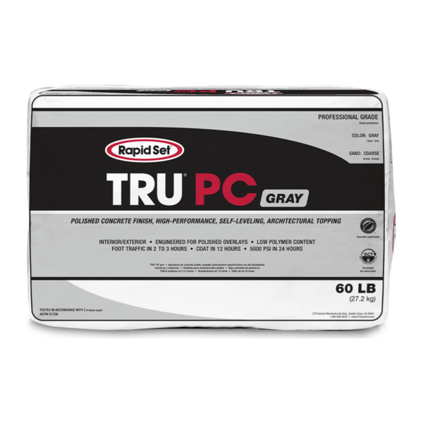 Rapid Set TRU PC Gray