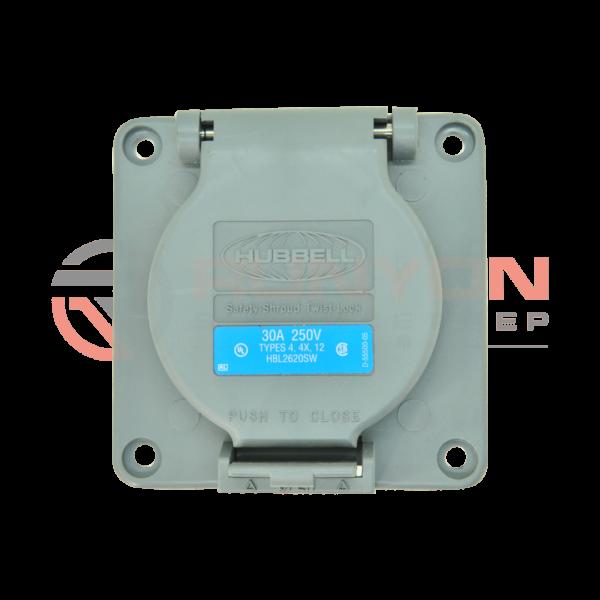 Ermator S36 250V 30Amp Receptacle