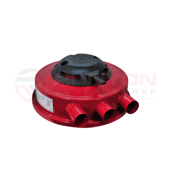 Ermator S36 Red Top Cover Complete