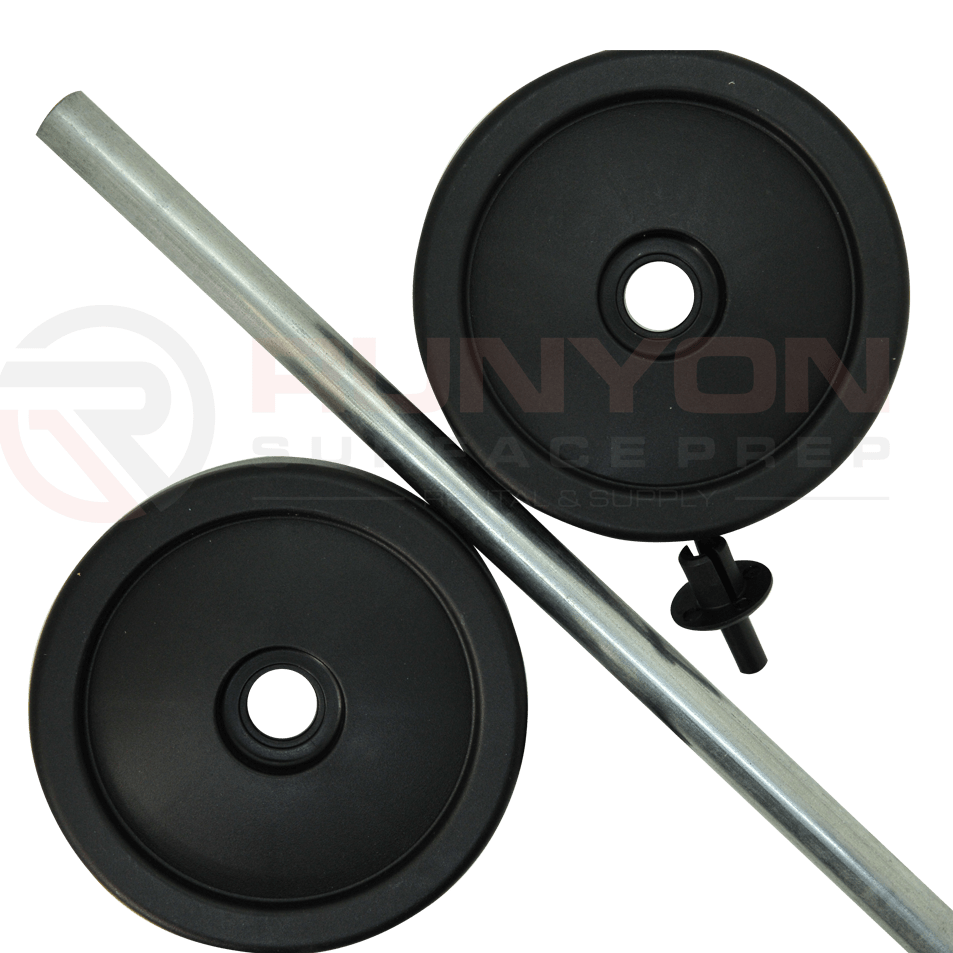 Ermator S25 Wheel Kit w/ Axle
