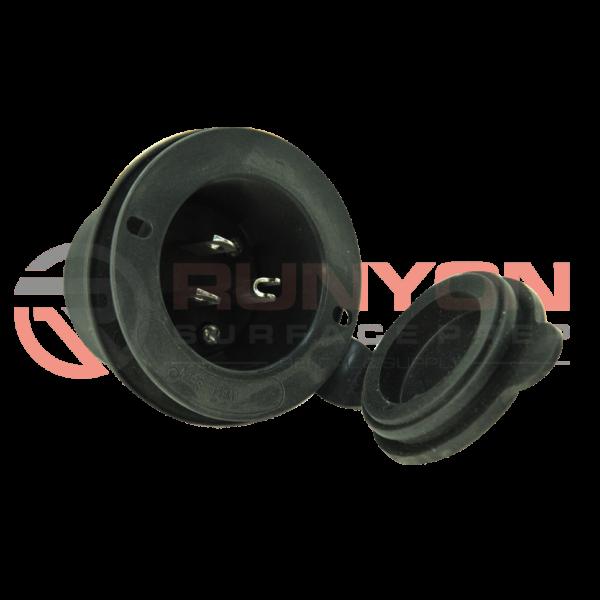 Ermator A600/1200 Air Scrubber GFCI Receptacle