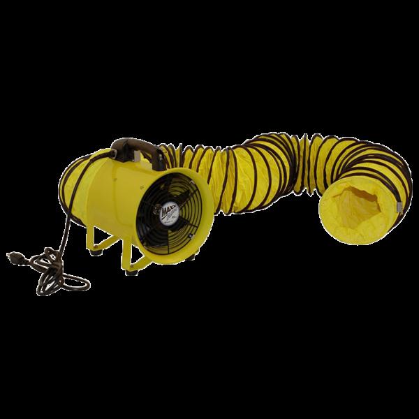 RSP MaxAir HD Cylinder Fan w/ 20Ft Hose